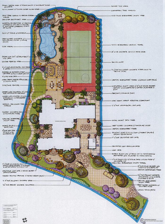 rasmussen design, inc ~ a professional landscape architectural
