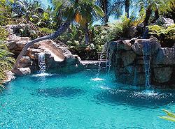 Irvine landscape architectural design services rasmussen for Elaborate swimming pools